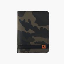 Porta Passaporte de Couro Militar | Army