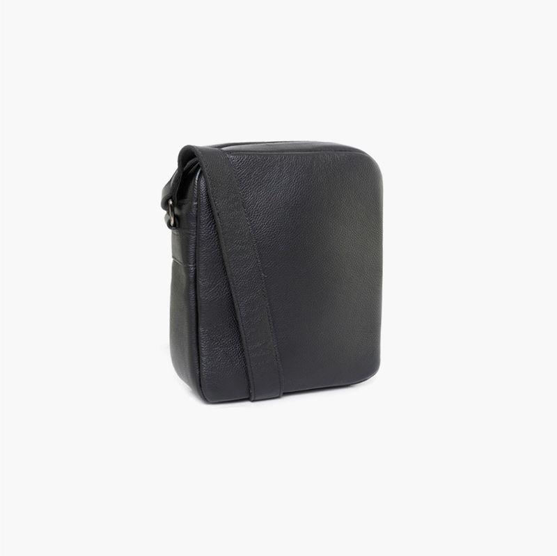 shoulder-bag-masculina-couro-rome-preto
