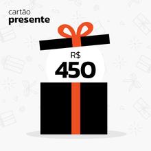 Cartão Presente R$450
